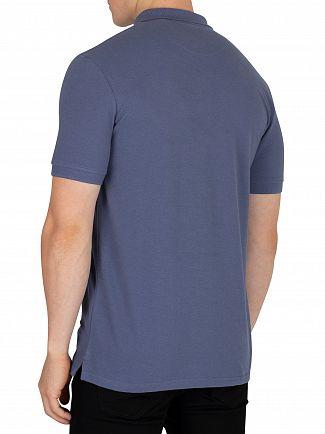 Lyle & Scott Indigo Blue Logo Poloshirt