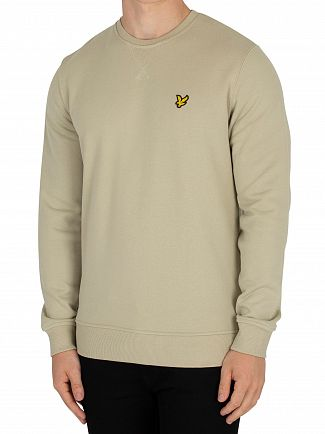 Lyle & Scott Green Stone Logo Sweatshirt