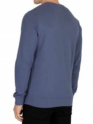 Lyle & Scott Indigo Blue Logo Sweatshirt
