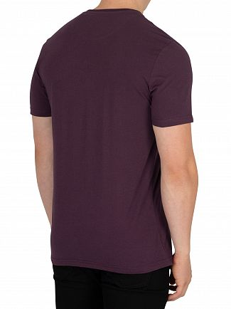 Lyle & Scott Deep Plum Logo T-Shirt