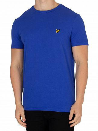 Lyle & Scott Duke Blue Logo T-Shirt