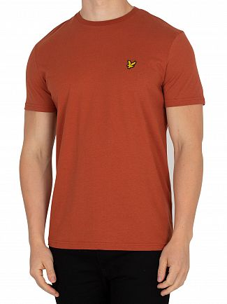 Lyle & Scott Brown Spice Logo T-Shirt
