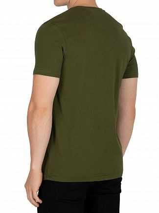 Lyle & Scott Woodland Green Logo T-Shirt