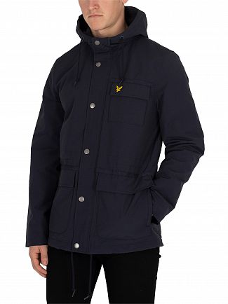 Lyle & Scott Dark Navy Micro Fleece Jacket