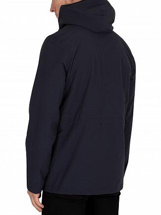 Lyle & Scott Dark Navy Micro Fleece Jacket