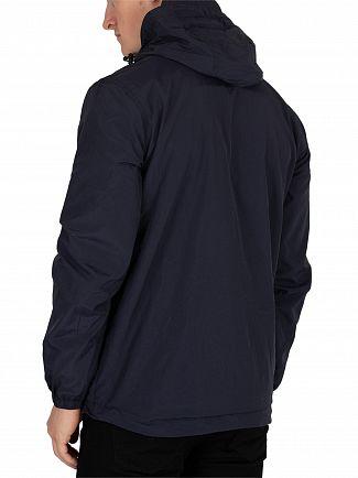 Lyle & Scott Dark Navy Microfleece Lined Zip Jacket
