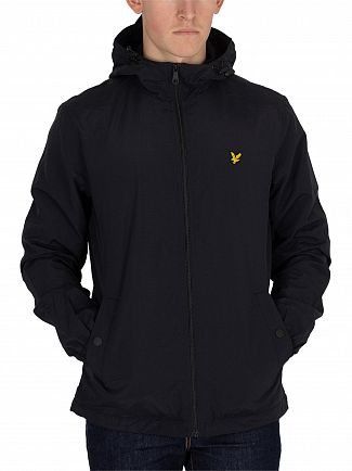 Lyle & Scott True Black Microfleece Lined Zip Jacket
