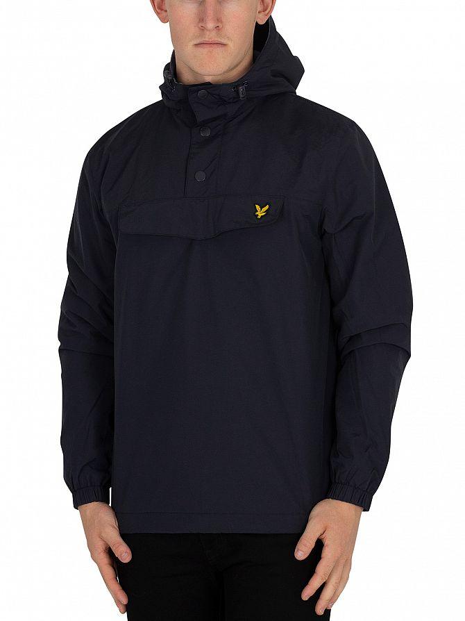 Lyle & Scott Dark Navy Overhead Anorak Jacket