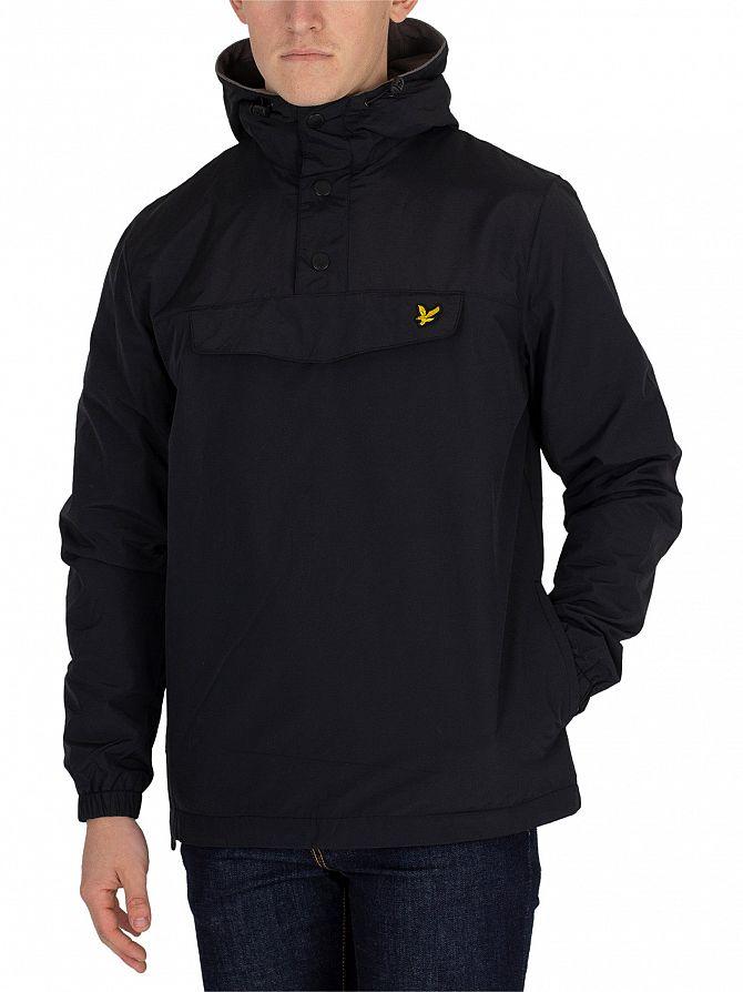 Lyle & Scott True Black Overhead Anorak Jacket