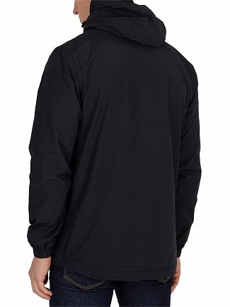 Lyle & Scott True Black Overhead Anorak Jacket