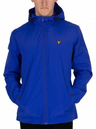 Lyle & Scott Duke Blue Zip Though Hooded Jacket