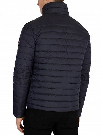 Superdry Navy Double Zip Fuji Jacket