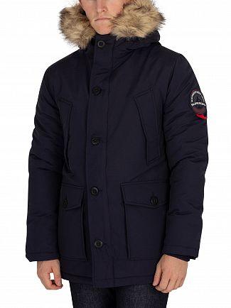 Superdry Navy Everest Parka Jacket