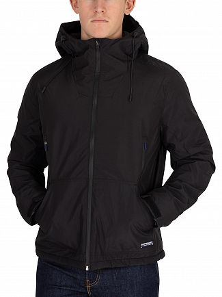 Superdry Black Padded Elite Windcheater Jacket