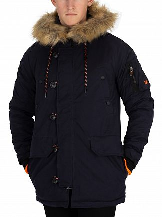 Superdry Dark Navy SDX Parka Jacket
