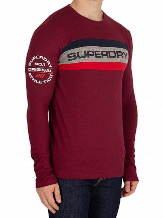 Superdry Bright Berry Grit Trophy Longsleeved T-Shirt