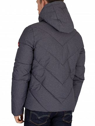 Superdry Navy Marl Xenon Padded Jacket