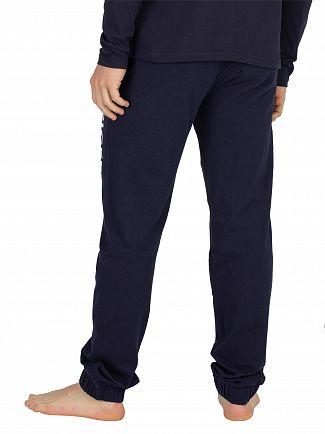 Tommy Hilfiger Navy Blazer Logo Joggers
