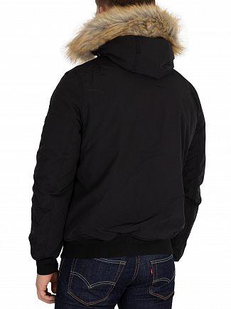 Tommy Jeans Black Technical Bomber Jacket