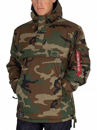 Alpha Industries Camo WP Anorak Jacket