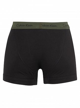 Calvin Klein Forest Night/Dark Night/Orange 3 Pack Trunks