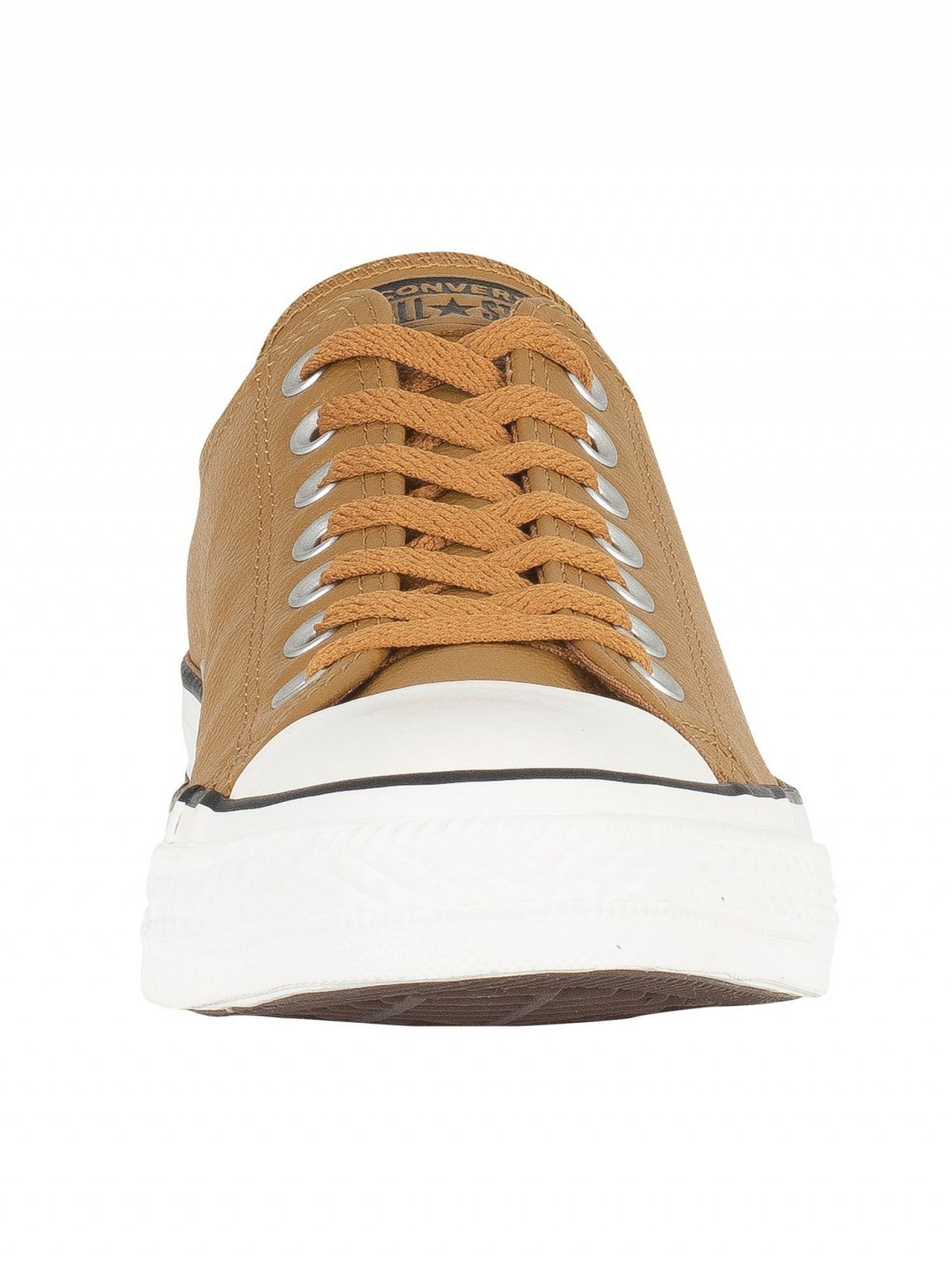 17b86260480d Converse Burnt Caramel CT All Star Ox Leather Trainers