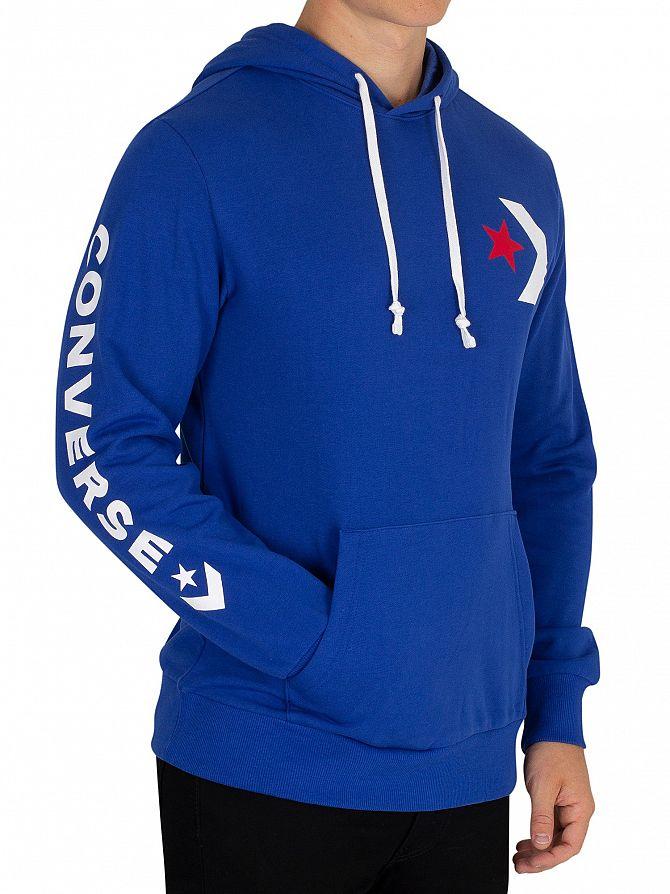 Converse Blue Slim Pullover Hoodie