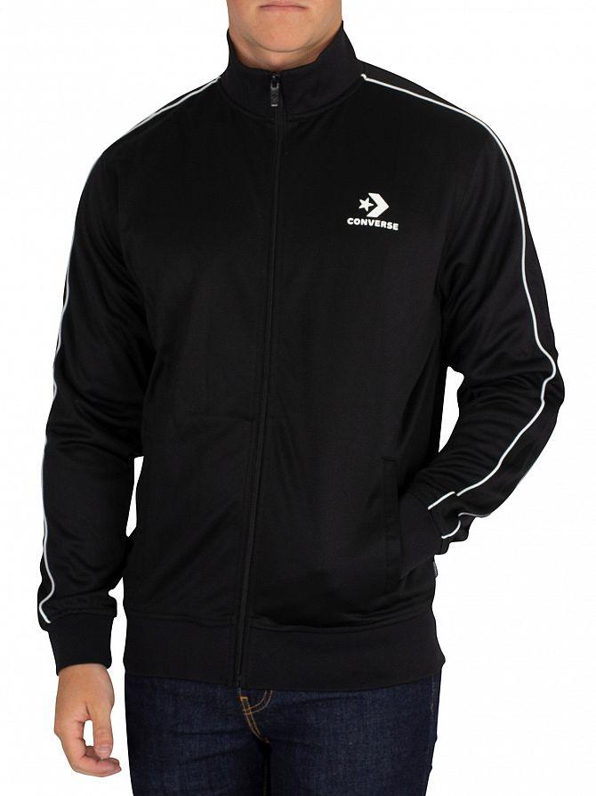 Converse Black Track Jacket