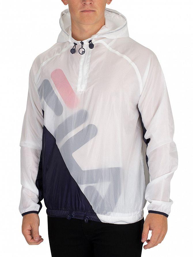 Fila White/Peacoat/Red Cohen Shell Jacket