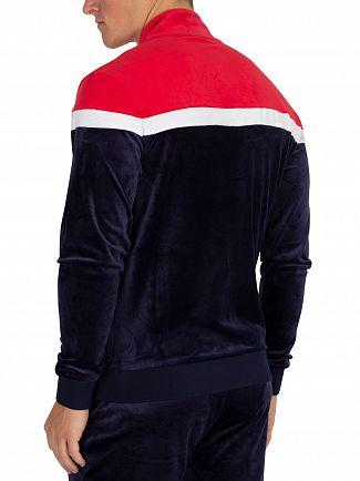 Fila Vintage Peacoat/White Harry Vintage Style Track Jacket
