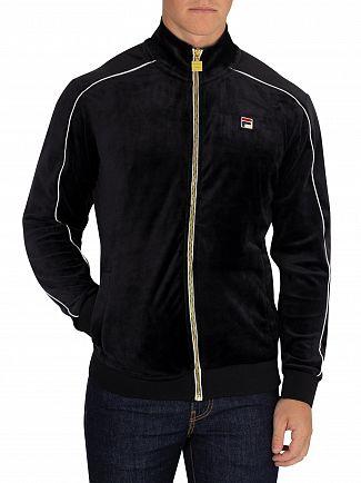 Fila Vintage Black Lineker Track Jacket