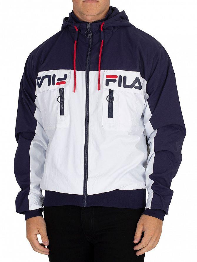 Fila Vintage Peacoat Murray Ski Style Jacket