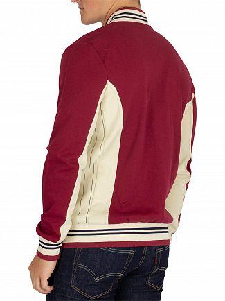 Fila Vintage Tibetan Red/Oyster White/Peacoat Settanta Track Jacket