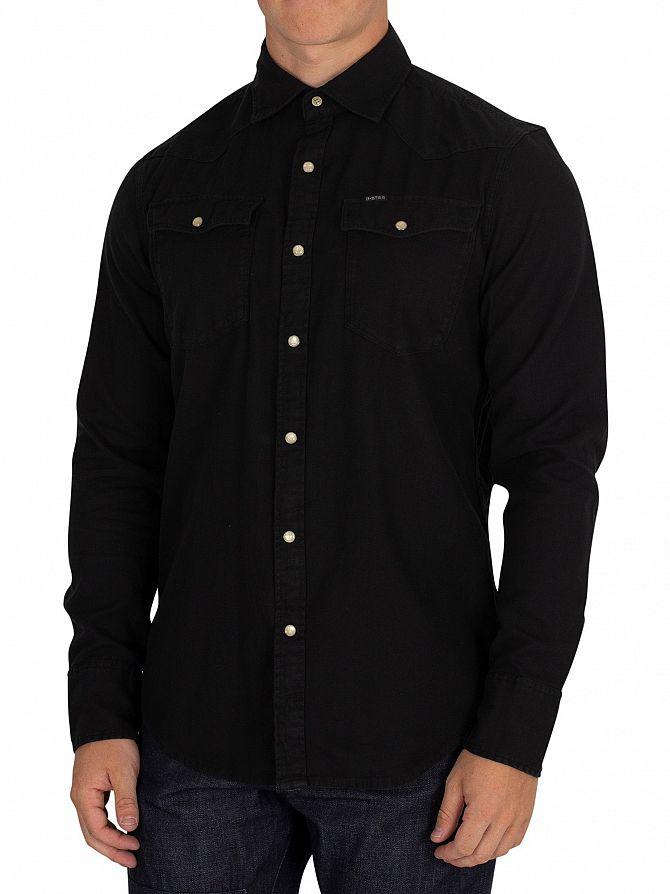 G-Star Dark Black 3301 Slim Shirt