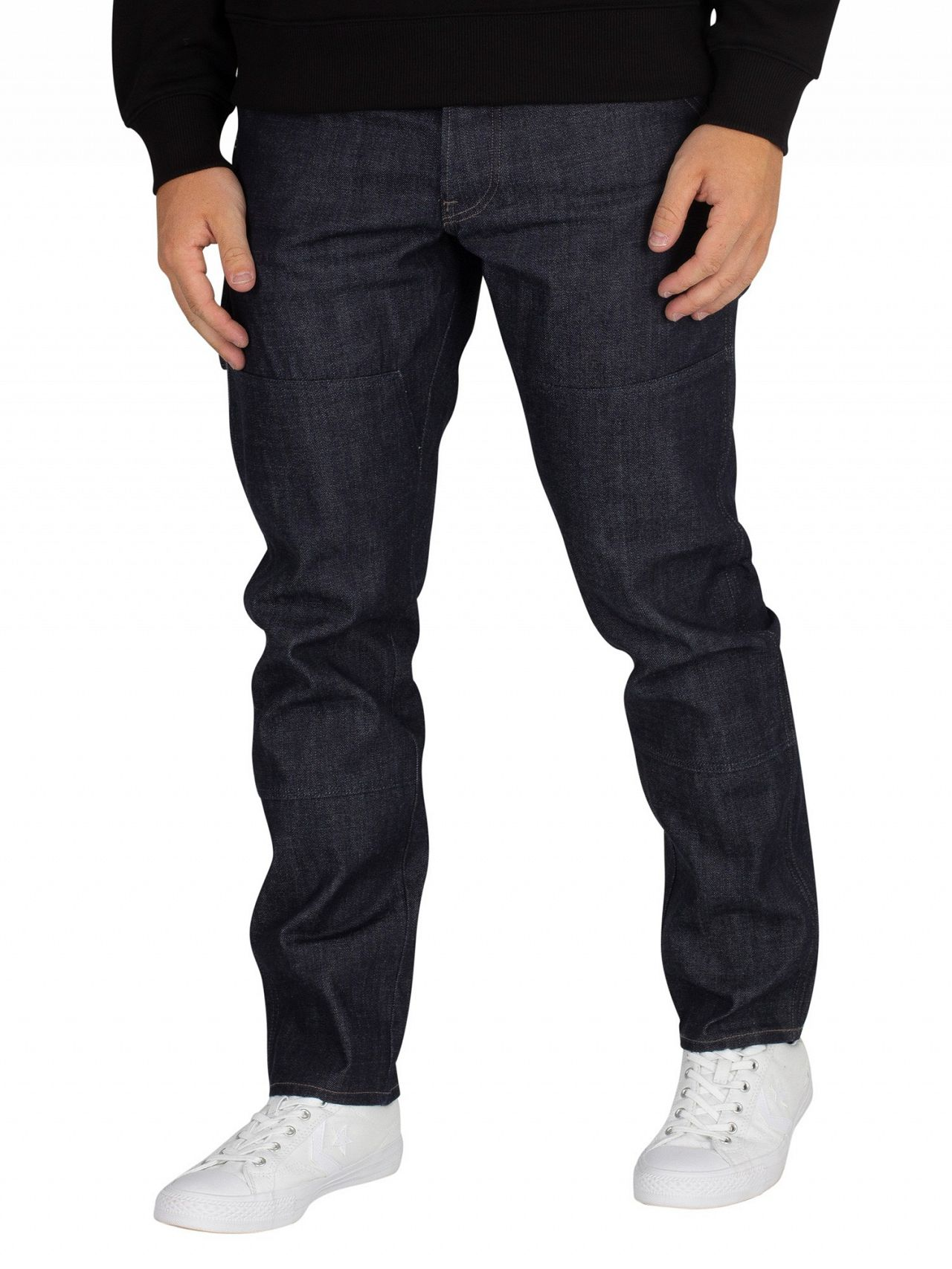 80826a9354a G-Star Raw Denim Faeroes Classic Straight Tapered Jeans | Standout
