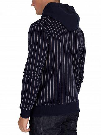 G-Star Sartho Blue/Milk Pinstripe Pullover Hoodie
