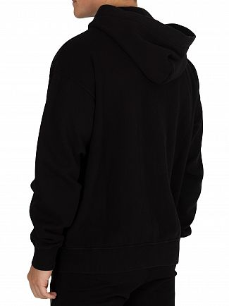 Vivienne Westwood Black Classic Patch Zip Hoodie