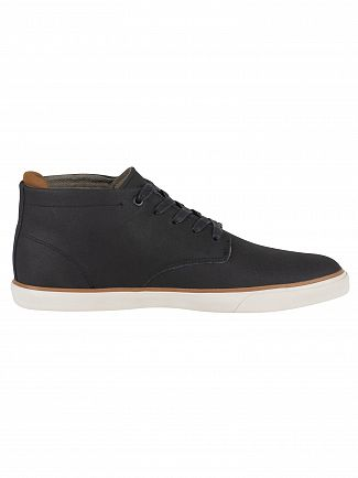 Lacoste Black/Brown Esparre Chukka 318 1 CAM Leather Trainers