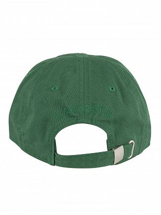 Lacoste Green Small Logo Baseball Cap