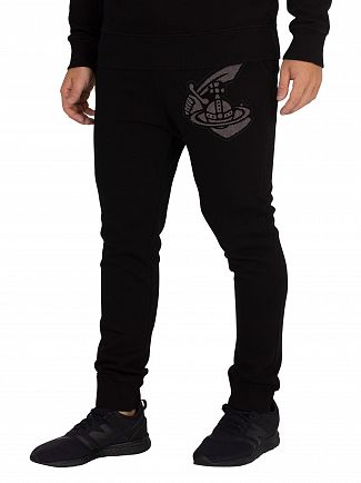 Vivienne Westwood Black Patch Joggers