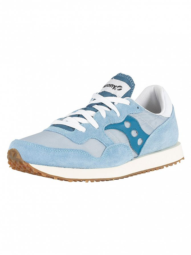 Saucony Blue/White DXN Vintage Trainers