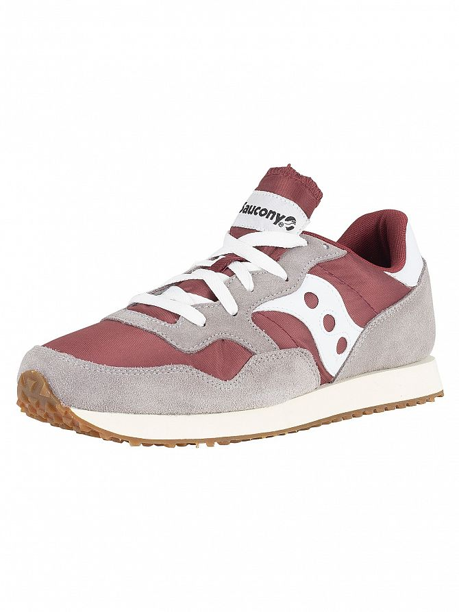 Saucony Grey DXN Vintage Trainers