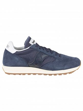 Saucony Navy Jazz Original Vintage Trainers