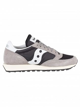 Saucony Grey/Black/White Jazz Original Vintage Trainers
