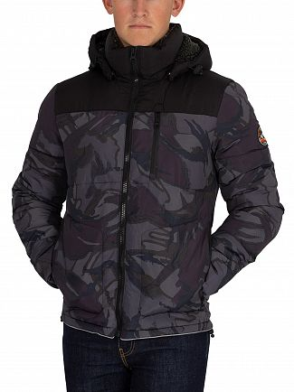 Superdry Black Expedition Jacket