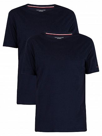 Tommy Hilfiger Peacoat 2 Pack Cotton T-Shirts