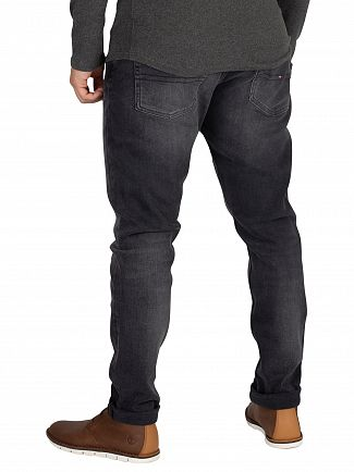 Tommy Jeans Wooden Black Modern Tapered Jeans