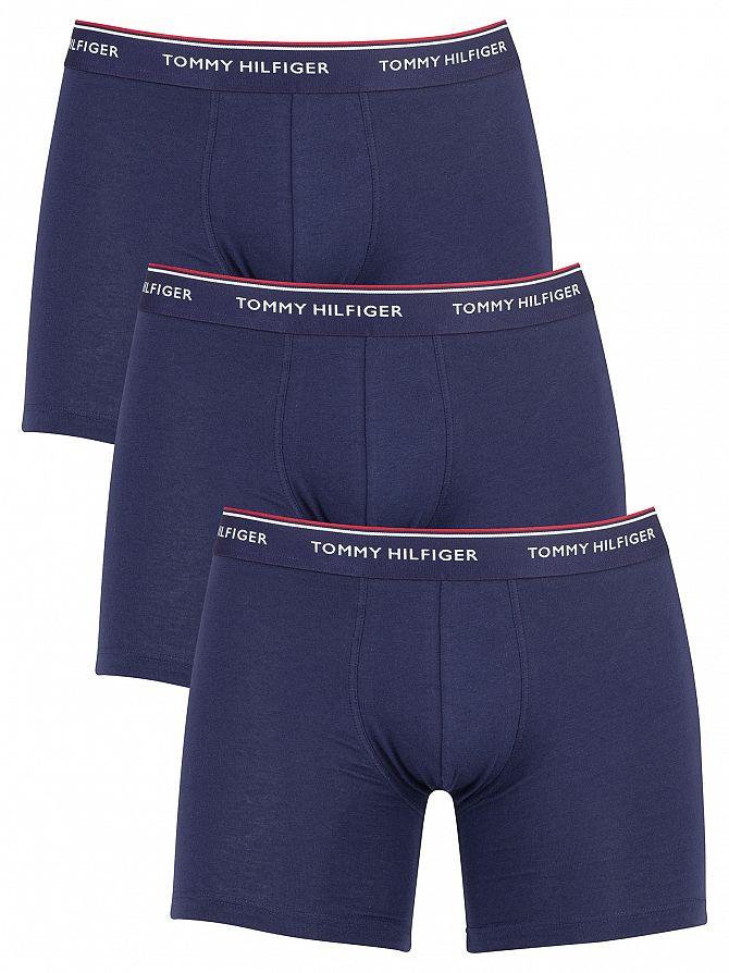 Tommy Hilfiger Peacoat 3 Pack Premium Essentials Boxer Briefs