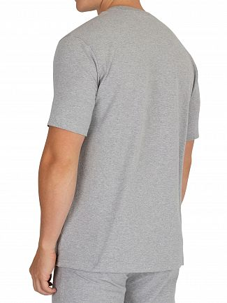 Tommy Hilfiger Grey Heather Centre Logo T-Shirt