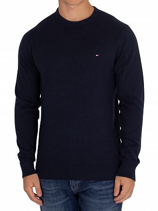 Tommy Hilfiger Sky Captain Heather Pima Cashmere Knit